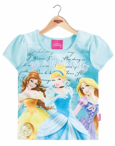 blusinha infantil princesas disney® brandili