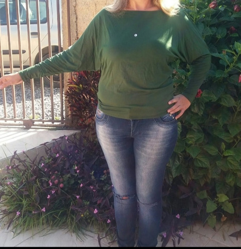 blusinha manga morcegokit c/4 p ao exg div. cores