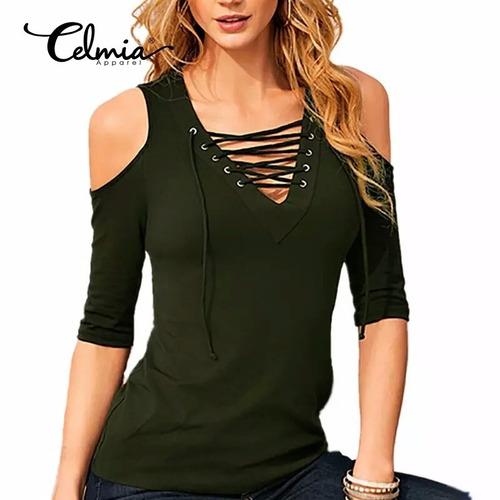 blusinha ombro vazado