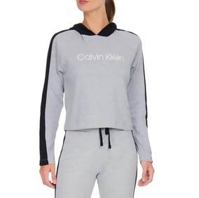 848a2eed9914b6 Blusão De Moletom Com Capuz Monograma Calvin Klein Rico022