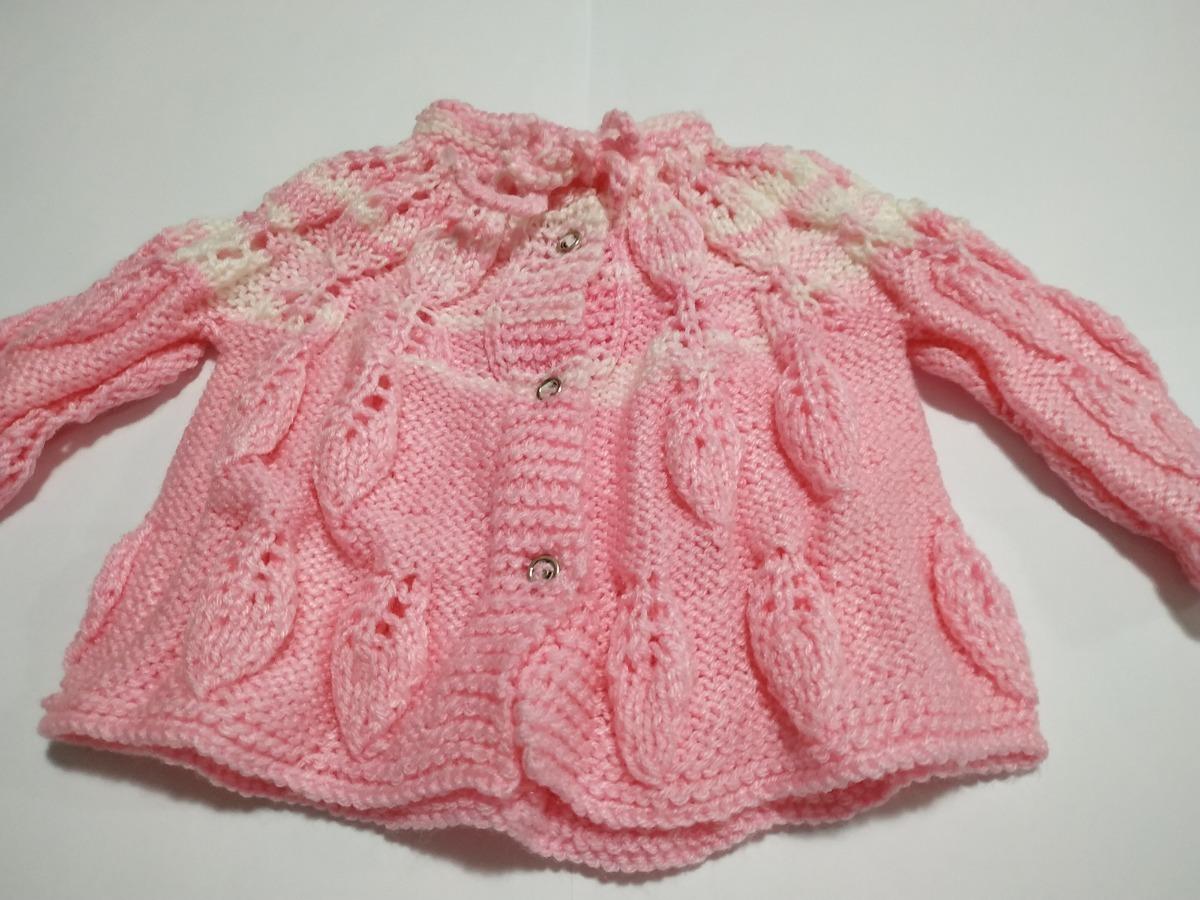 88dc1e63e966 blusão lã bebe artesanal tricot recém-nascido tam: 0-3 meses. Carregando  zoom.