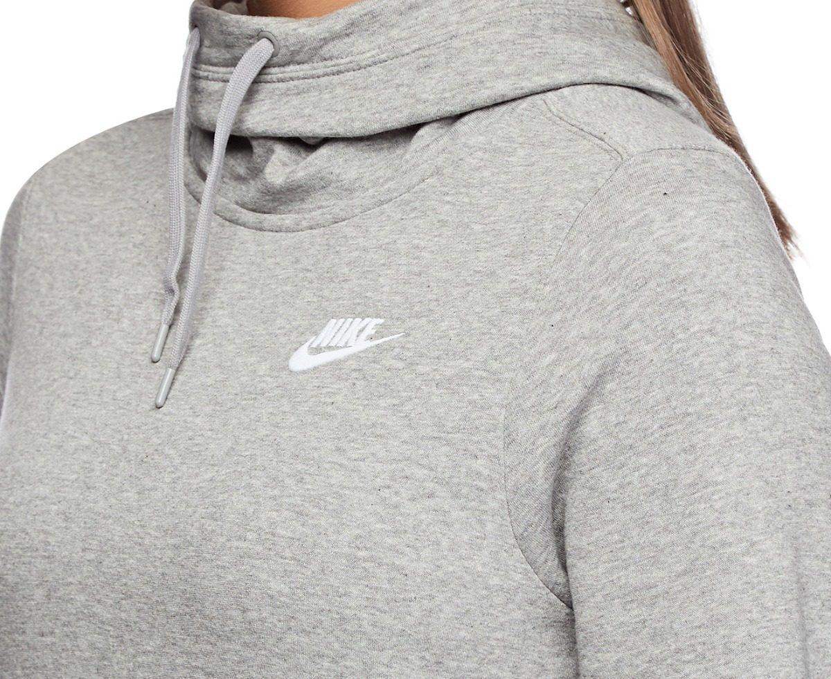 be7372d8cb0 blusão nike sportswear funnelneck feminino - original. Carregando zoom.