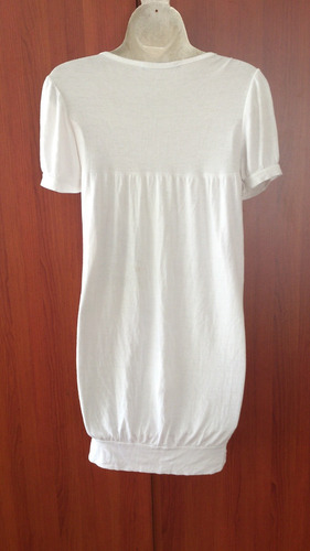bluson blanco italiano talla m  de remateeee..
