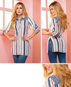 20da51b55 Blusones Blusas Camisones O Camisas - Ropa y Accesorios en Mercado ...