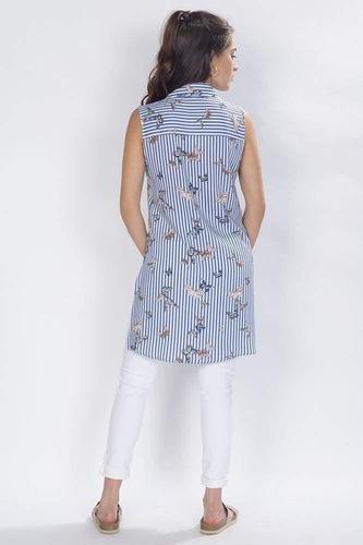 bluson camisero rayas mariposas unico-n81156-uni a1