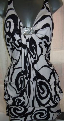 bluson/mini vestido  talla m   nuevo