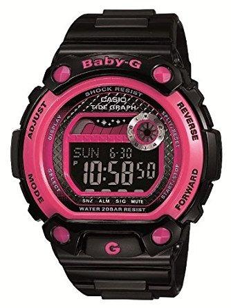 blx jf casio baby-g g-lide reloj