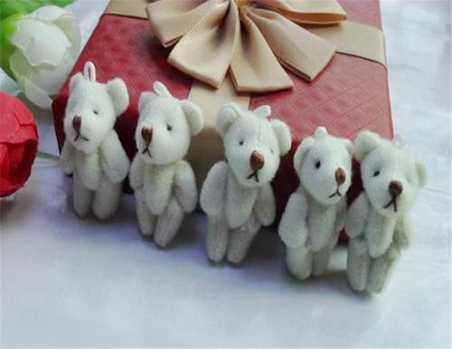 blythe mini urso de pelúcia 3.5 cm para blythe, pullip doll