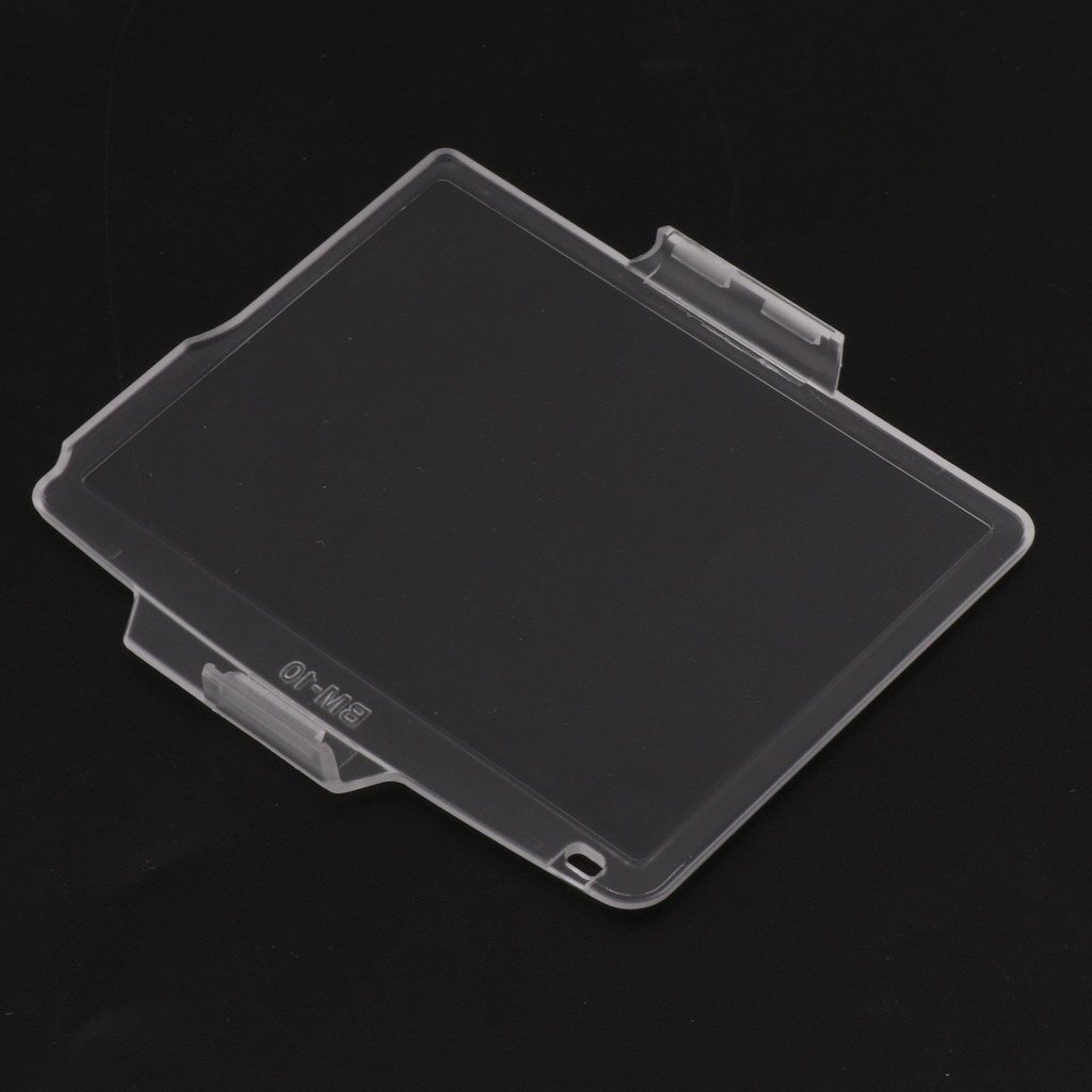 Cubierta protectora transparente BM-10 Monitor LCD Pantalla Protector Para Nikon D90 DSLR