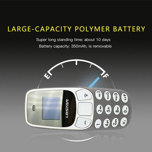 bm10 baixo radiação mini telefone in- orelha headse pode c