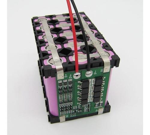 bms 3s 25a li-ion 18650  pcm bateria litio carga descarga 3s