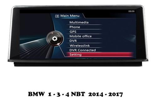 bmw 1 / 2 pantalla grande 2019/20 android / internet - evo
