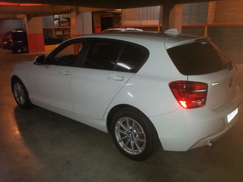 bmw 114 i series 1 blanco unico dueño impecable