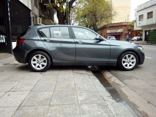 bmw 116i 5 puertas 2013 gris medio