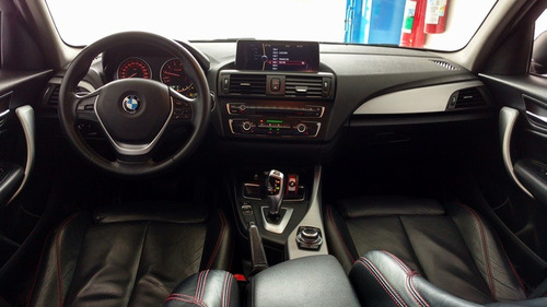 bmw 118i 1.6 sport aut. turbo único dono 2013 azul