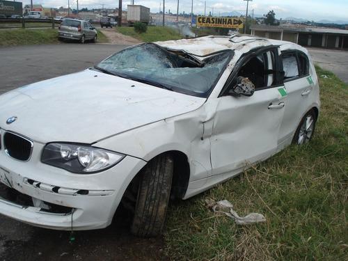bmw 118i  2010 sucata acessorios peças lataria motor cambio