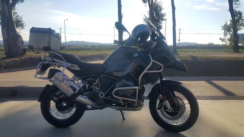 bmw 1200 adventure  triple black 2017 4000 km  como 0km