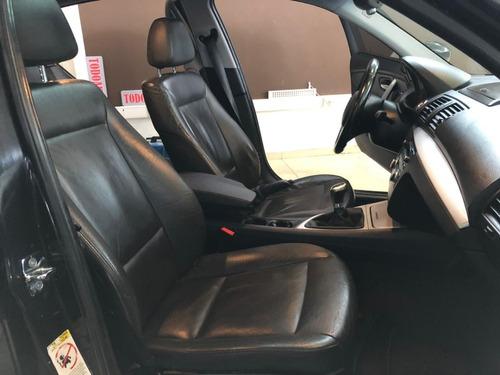 bmw 120d manual 2008 color negro