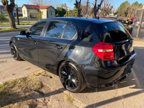 bmw 120i 5 puertas - negro - impecable - segundo dueño