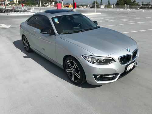bmw 220 coupe sport line biturbo 2016 (impecable)