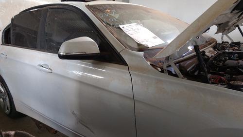 bmw 316i turbo, 2014 - sucata para retirada de peças
