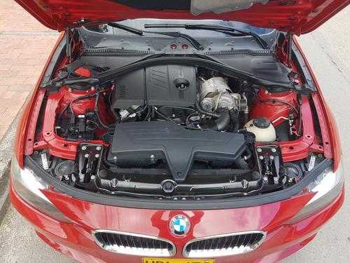 bmw 316i twin turbo, 2013, rojo