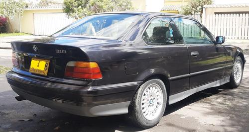bmw 318 is coupe modelo 1992 negro