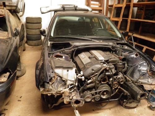 bmw 320 2001 e46 sucata p/ peças motor cambio automático