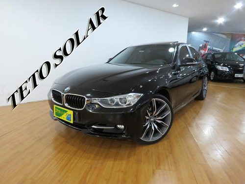 bmw 320i 2.0 sport gp 16v turbo active flex aut top c/ teto