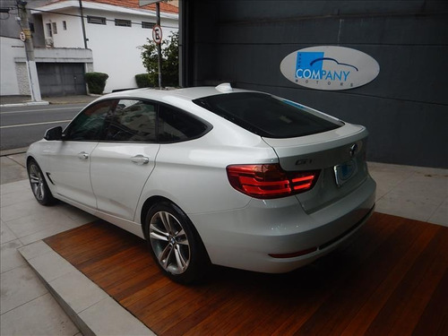 bmw 320i 320i gt sport 2015 branco top c/ 41 mil kms