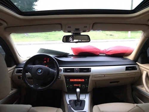 bmw 320i at 2012 branca + teto solar + interior caramelo