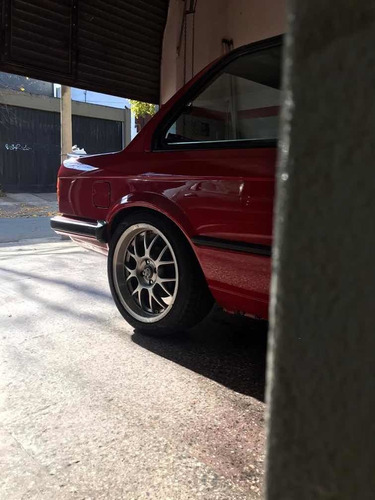 bmw 320i e30 6 cil coupe! roja