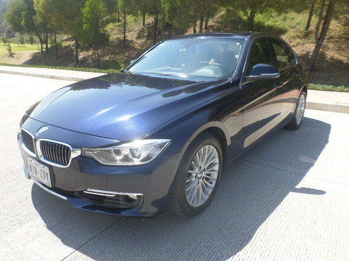 bmw 320i luxury line at piel, quemacocos, electrico, aux.
