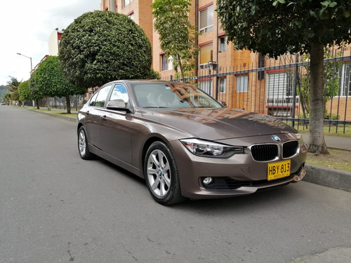 bmw 320i serie 3 2013 at power twin turbo bronce metalizado