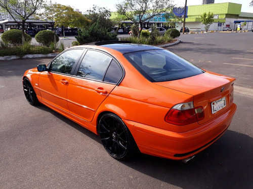 bmw 323 exclusiva laranja feuerorange aro 19 única e linda