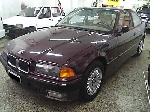 bmw 325 coupe 1994 cuero y techo - juan manuel autos