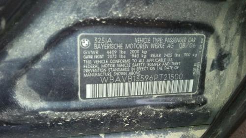 bmw 328i 2007 serie 3 v6 3.0 lit atm venta de partes 2007