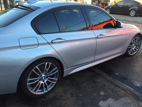 bmw 335i biturbo 2014 secuencial equipo m 29000 kms plata