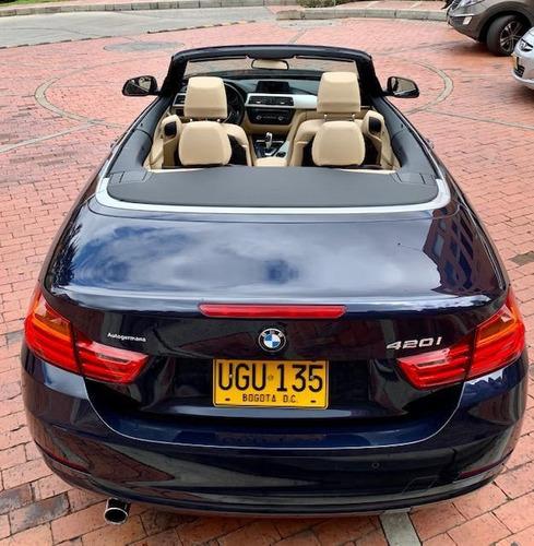 bmw 420i - espectacular cabriolet / convertible. techo duro.