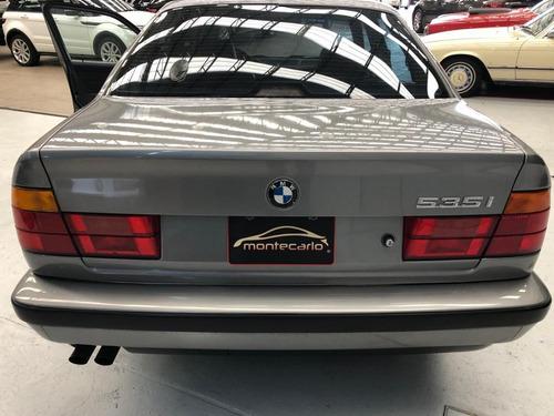 bmw  535i 1989 gris