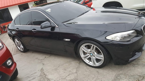 bmw 535i negro perla twin-power turbo v6 3.0 2011