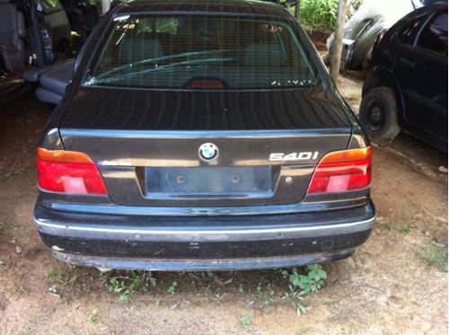 bmw 540 motor cambio sucata suspençao peças ano 1998/99