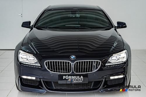 bmw 640i gran coupe 3.0 2014 preta