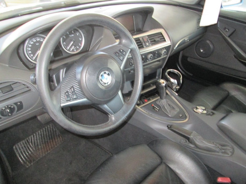 bmw 645 i 2005 automatico azul