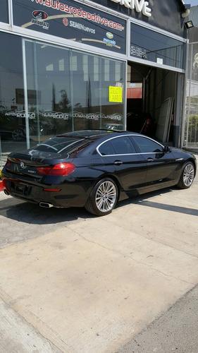 bmw 650i gran coupe negro 2015 v8 biturbo