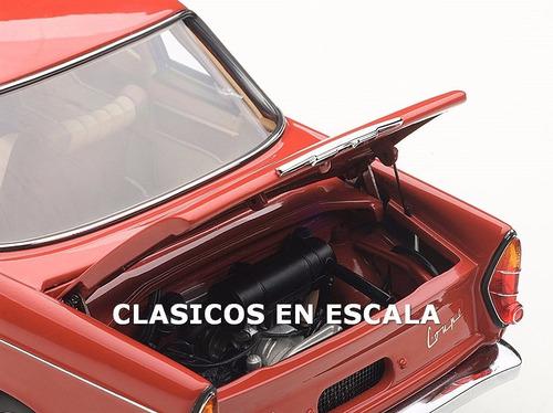 bmw 700 sport coupe - clasico en argentina - autoart 1/18