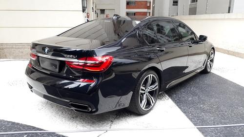 bmw 750il 4.4 m sport v8 32v gasolina 4p aut 2017 - blindado
