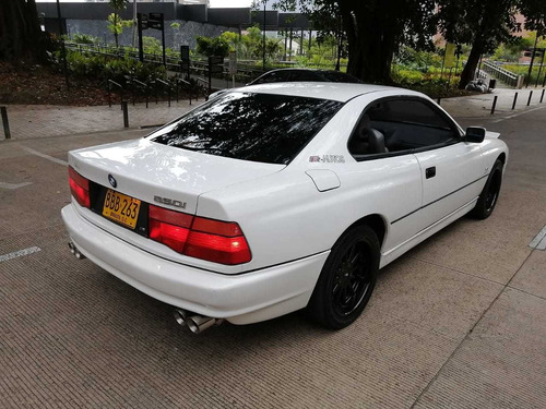 bmw 850i v12 5.0 1991