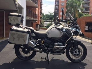 bmw adventure  1200 low kit