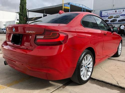 bmw coupe rojo 220i 2017